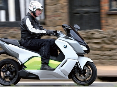 BMW C evolution - Titel