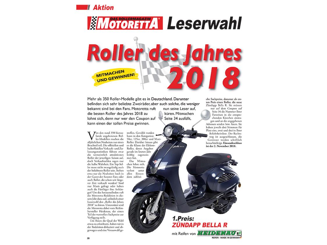Mitmachen Und Eine Neue Zündapp Bella R Gewinnen Motoretta